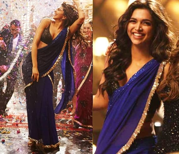 The Gorgeous Deepika Padukone In Saree