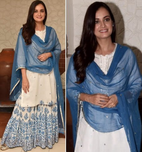 Dia Mirza at Eid Celebrations