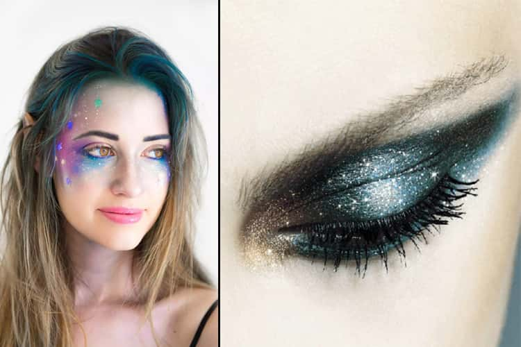 Galaxy Eye Makeup