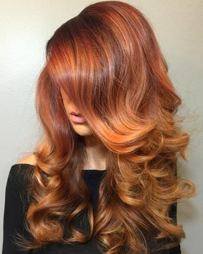 Ginger Brown Hair Color