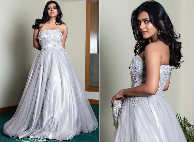 Hebah Patel at Jio Filmfare Awards 2018 South