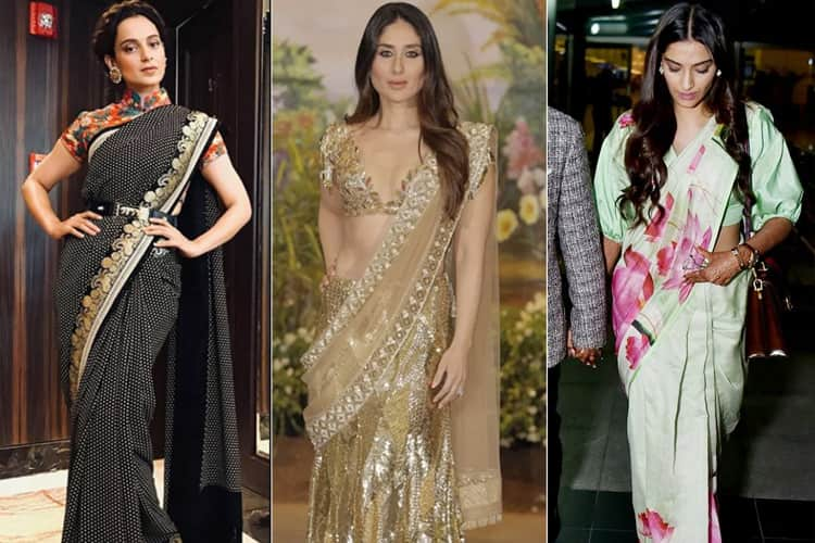 Indian Actresses In Sarees