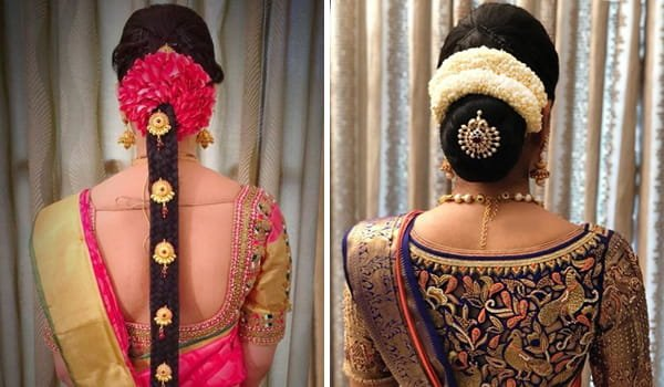 12 Popular South Indian Bridal Hairstyles Indian Fashion Blog