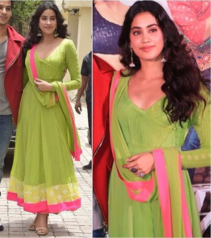 Janhvi Kapoor at Dhadak Trailer Launche