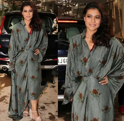 Kajol in Shruti Sancheti Fashion