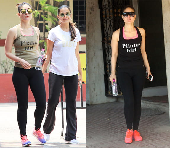 Kareena in Caption T-Shirts