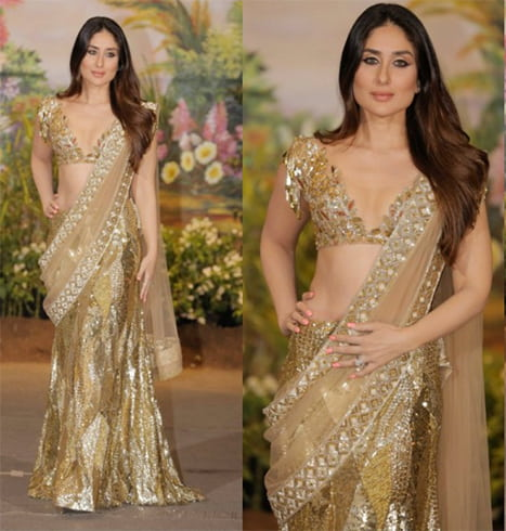 Kareena Kapoor in Manish Malhotra Saree