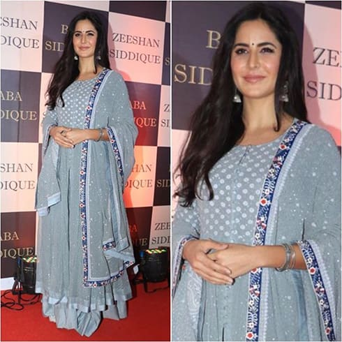 Katrina Kaif at Baba Siddique iftar party