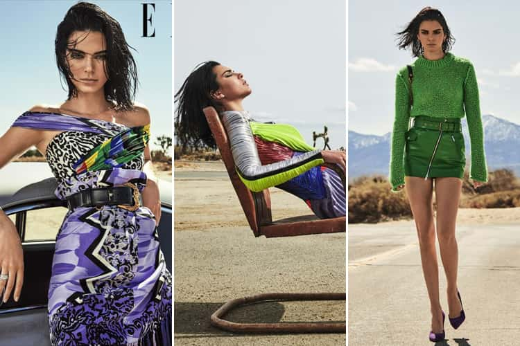 Kendall Jenner For Elle Magazines