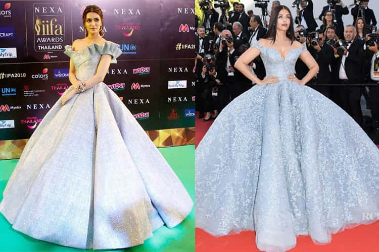 Kriti Sanon and aishwarya fashion