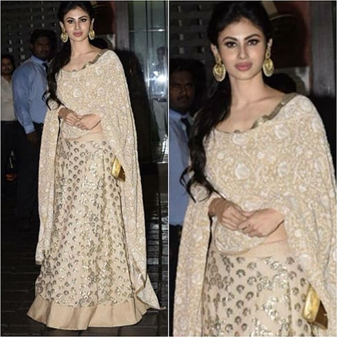 Mouni Roy at Eid party