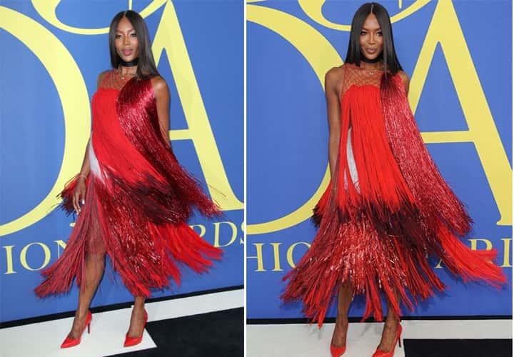 Naomi Campbell at CFDA Awards