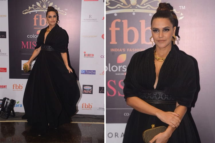 Neha Dhupia at Femina Miss India event