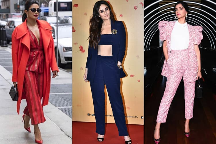 pantsuits in Bollywood