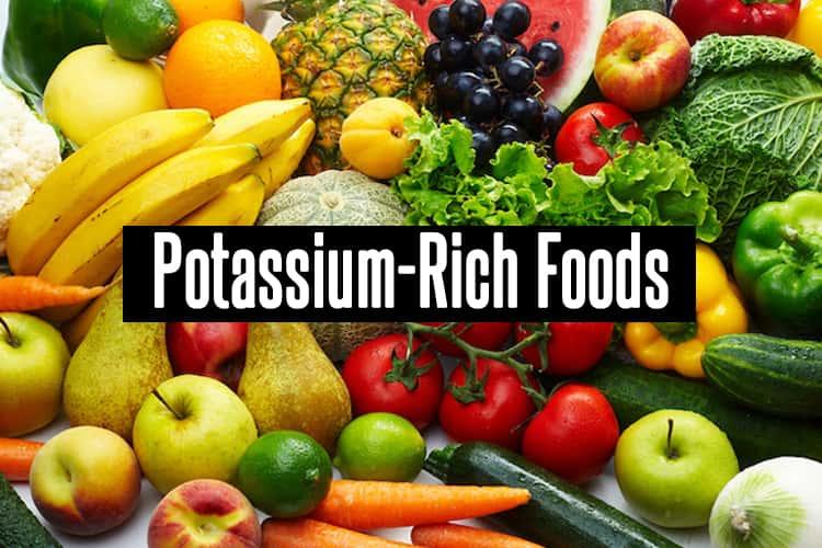 Potassium-Rich Foods-min
