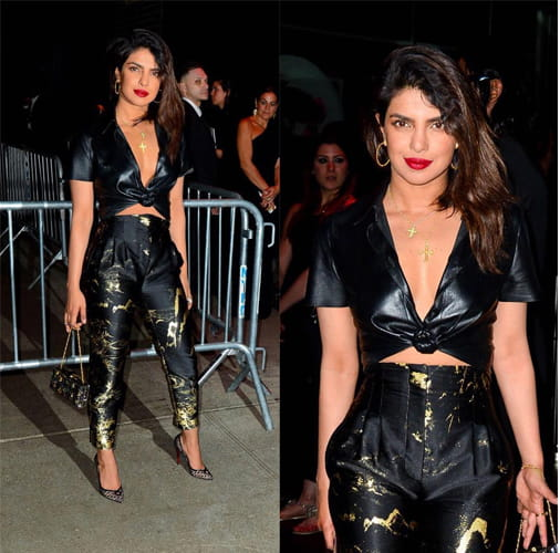 Priyanka chopra In Ankle Length Pants