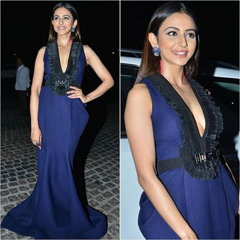 Rakul Preet Singh at Jio South Filmfare Awards