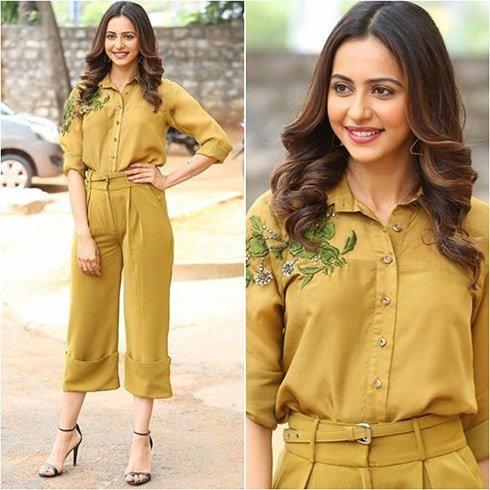 Rakul Preet at WO Ram Trailer Launch