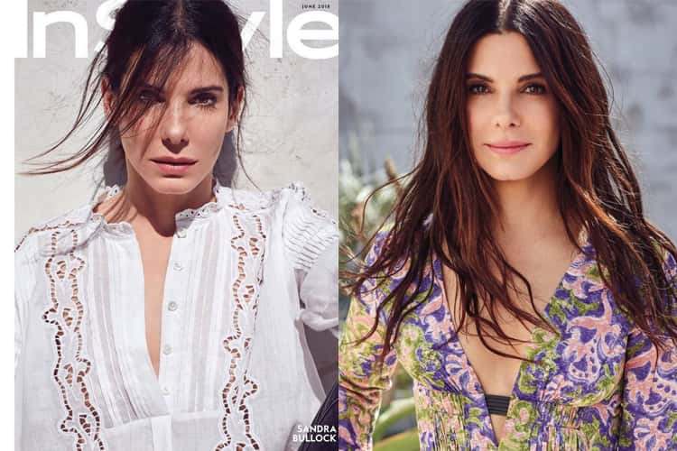 Sandra Bullock For InStyle
