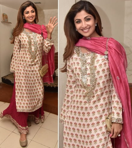 Shilpa Shetty at Eid celebrations
