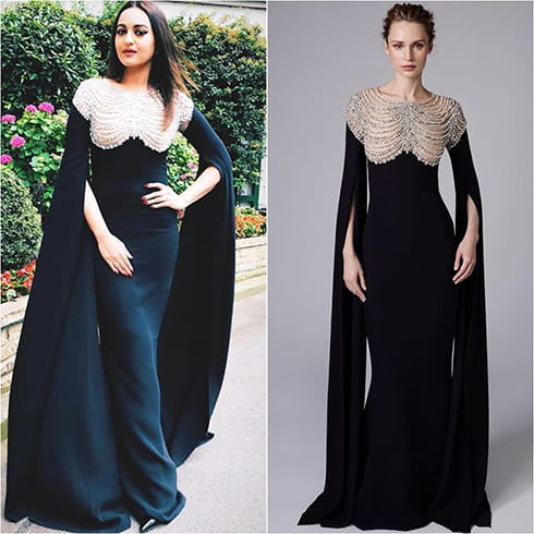 Sonakshi Sinha Reem Acra outfit