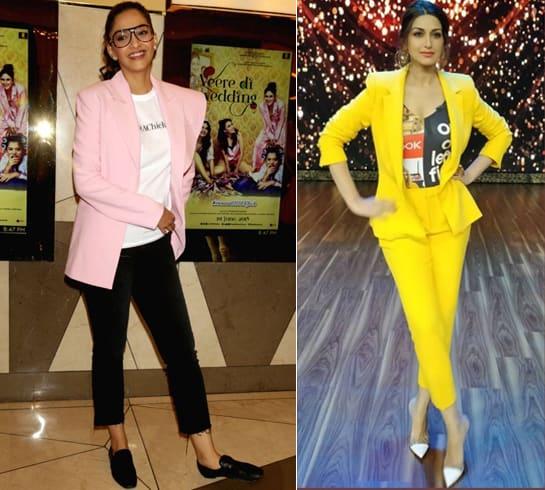 Sonam Kapoor vs Sonali Bendre