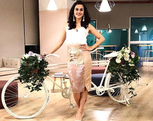 Taapsee In Esse and H&M