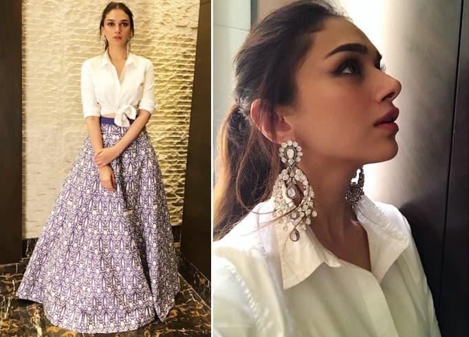 Aditi Rao Hydari in Ridhi Mehra Skirt