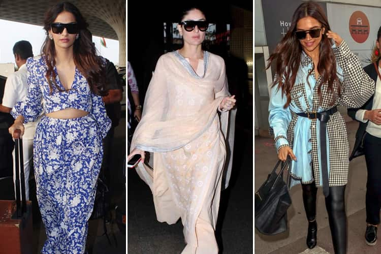 Bollywood Celebs Airport Looks