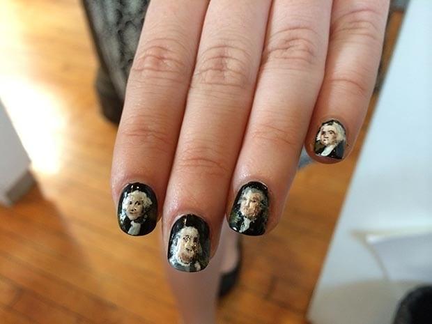 American Presidents Nail Art