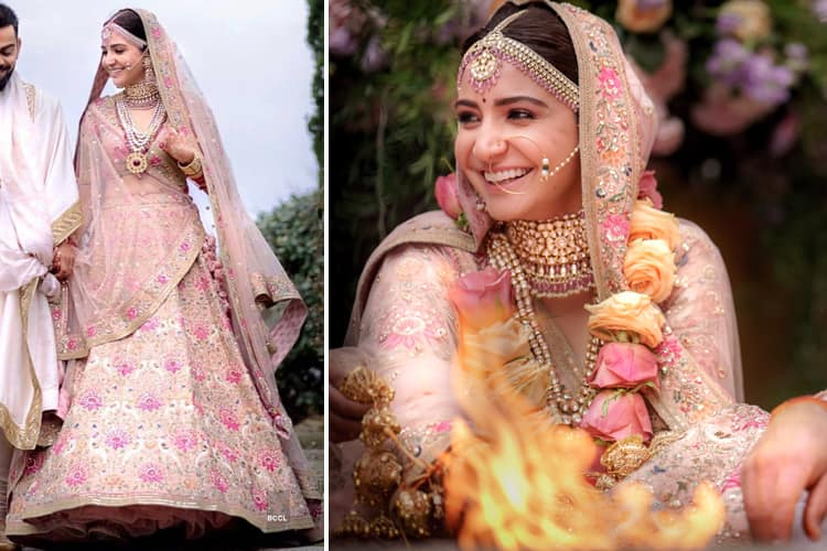 Anushka Sharma Bridal Wear