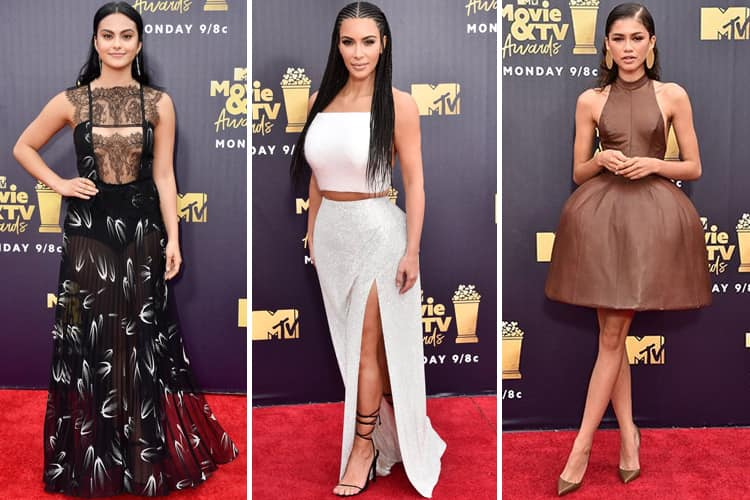 Best-Dressed Celebs At Mtv Movie And Tv Awards 2018