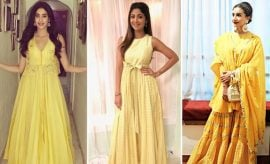 Bollywood Divas In Yellow Outfits