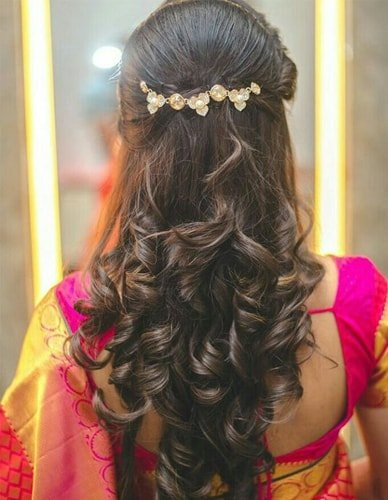 bridal hairstyle fashion
