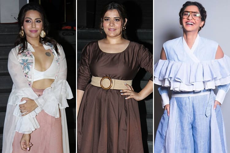 Celebrities at Veere Di Wedding Screening