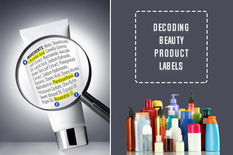 decoding beauty product labels For beauty