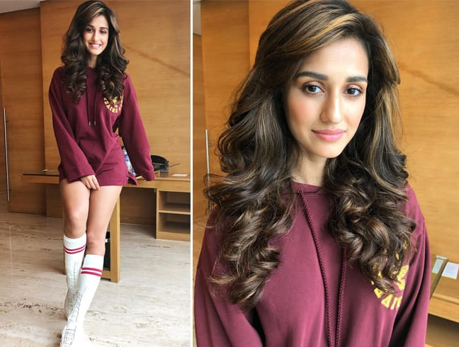 Disha Patani in Sweatshirt