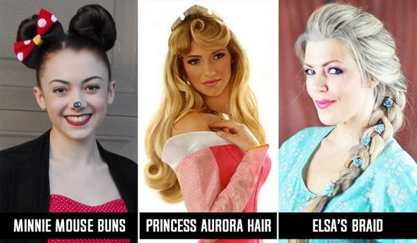 Disney Princess Hairstyles For Long Hair