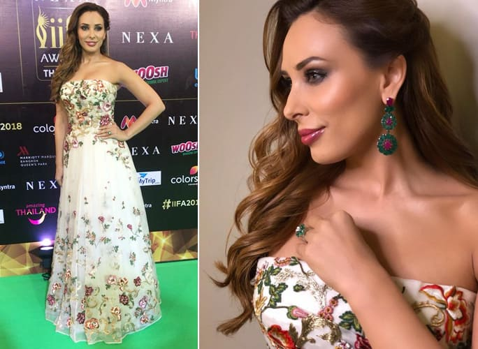 Iulia Vantur at IIFA Rocks 2018