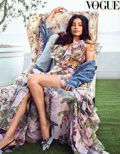 Janhvi Kapoor Vogue June 2018 Shoot