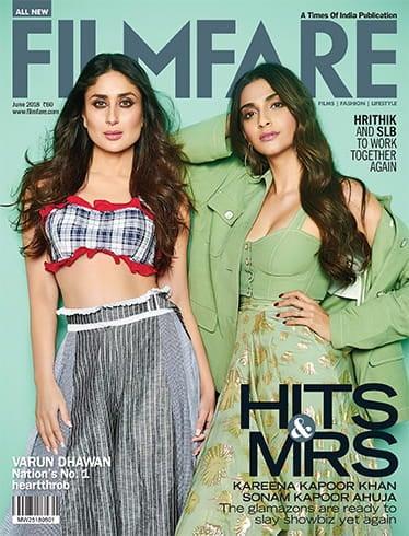 Kareena And Sonam On Filmfare Cover