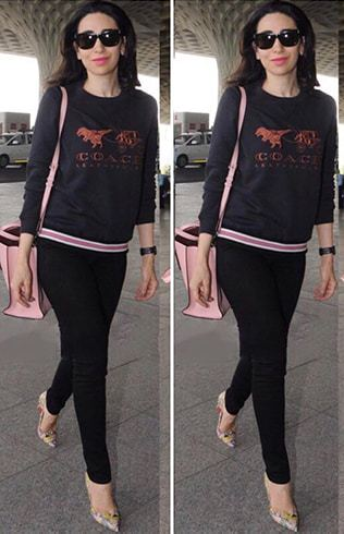Karisma Kapoor in Coach Sweatshirt