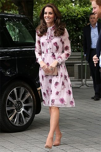 Kate Middleton with Kate Spade Bags