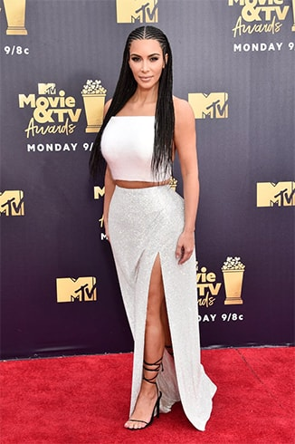 Kim Kardashian at MTV Movie and TV Awards