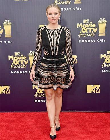 Kristen Bell at 2018 MTV Movie and TV Awards