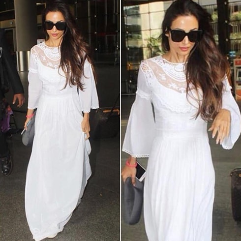 Malaika Arora Khan licked at Airport