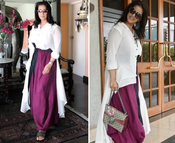 Manisha Koirala in Chola outfit