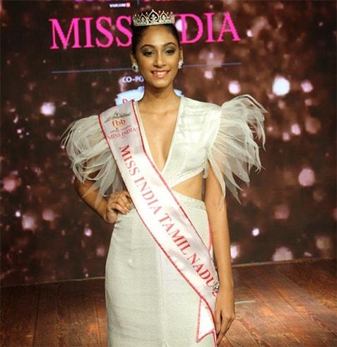 Miss India Anukreethy Vas Tamil Nadu