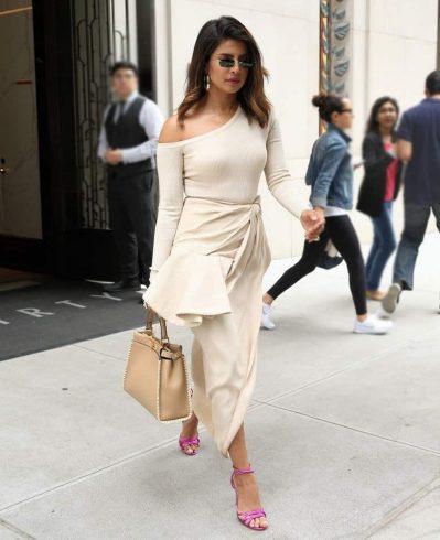 Priyanka Chopra in Jacquemus Skirt