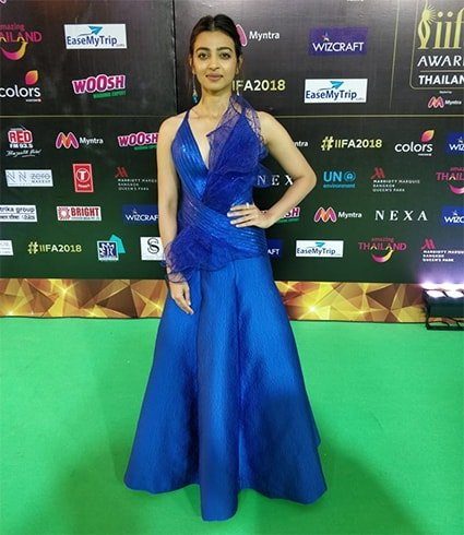 Radhika Apte in Amit Aggarwal Dress